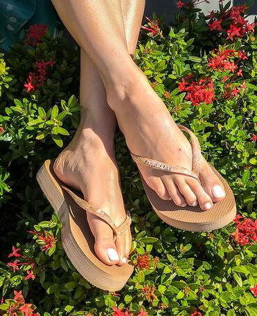 Havaianas Slim Flatform Glitter