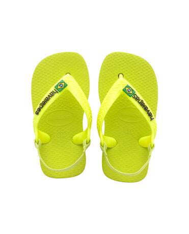 Havaianas Baby Brasil Logo II - flip-flops - GALACTIC GREEN - bebe