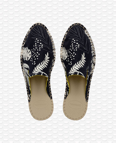 HAVAIANAS ESPADRILLE MULE LOAFTER PRINT