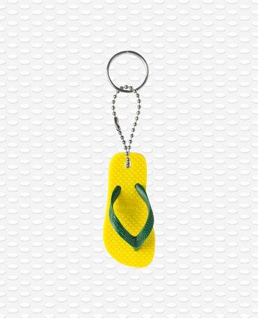 Havaianas Keyring - Porta-chaves chinelos - Amarelo cítrico