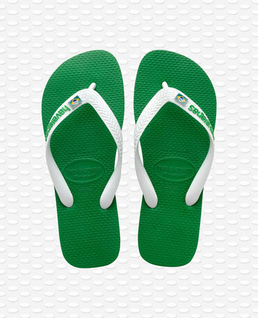 Havaianas Brasil Layers - Green - Flip flops
