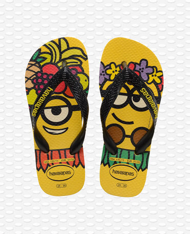 Havaianas Minions - Citric yellow/black/citric yellow - Flip flops - Kids