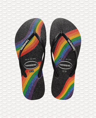 Havaianas Slim Pride - BLACK