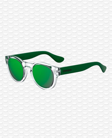 Havaianas Eyewear Trancoso Mirrored - Neon Green Sunglasses