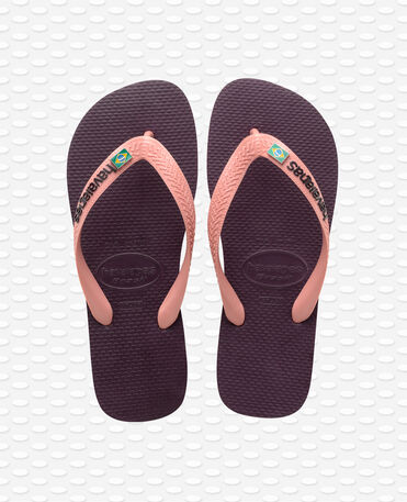 Havaianas Brasil Layers - Tongs - Aubergine