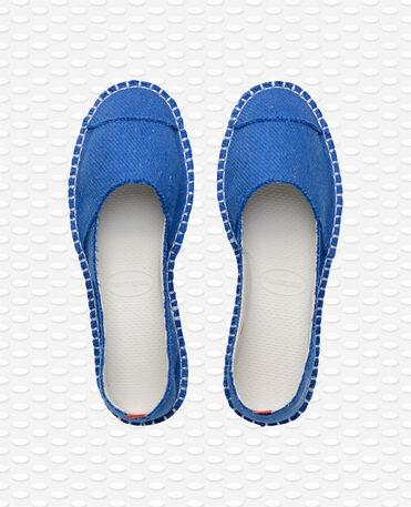 Havaianas Origine Flatform II - Espadrilles Bleues Femme
