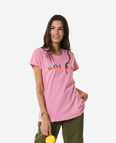 Havaianas Solar T-shirt ricamata - T-shirts woman - PINK