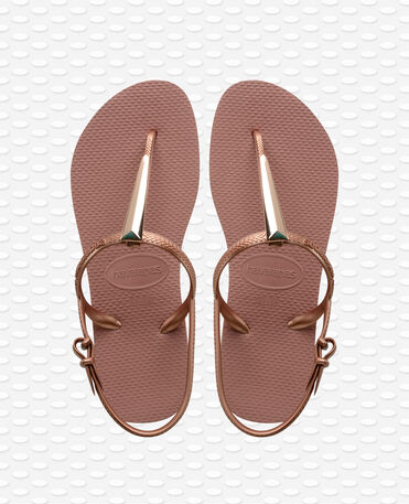 Havaianas Freedom Maxi - Crocus rose - Sandals - Women