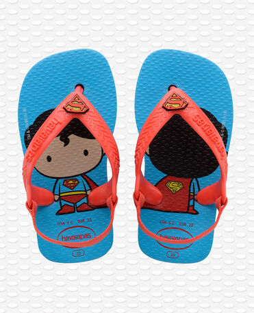Havaianas Baby Herois - Turquoise/strawberry - Flip flops - Kids