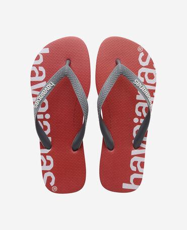 Havaianas Top Logomania Hightech - flip-flops - RED - unisex