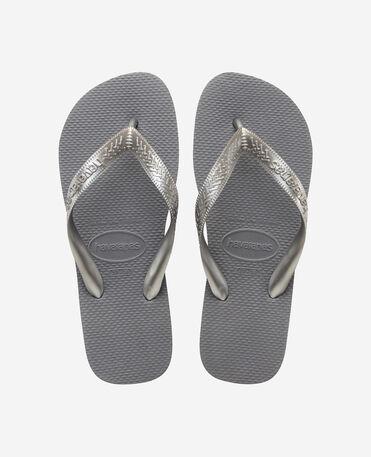 Havaianas Top Tiras - flip-flops - STEEL GREY - mujer