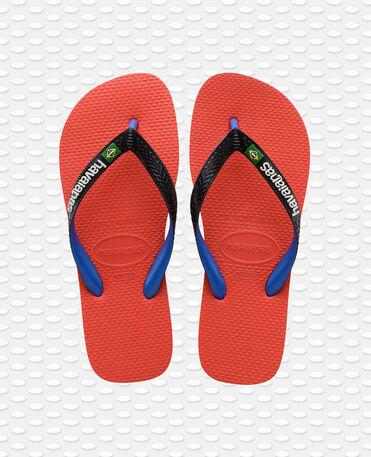 Havaianas Brasil Mix - flip-flops - RED CRUSH - unisex