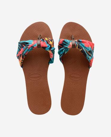 Havaianas You Saint Tropez - city-sandals - RUST - mujer