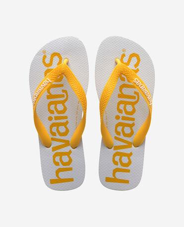 Havaianas Top Logomania 2 - flip-flops - GOLD YELLOW - unisex