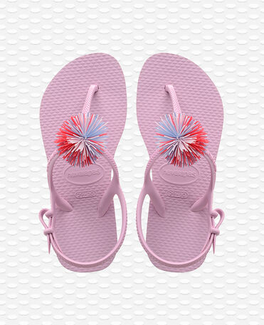 Havaianas Kids Freedom SL Pompom - Rose quartz - Sandals - Kids