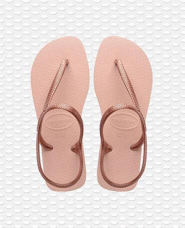 Havaianas Flash - beach sandals - BALLET ROSE/GOLDEN BLUSH - unisex