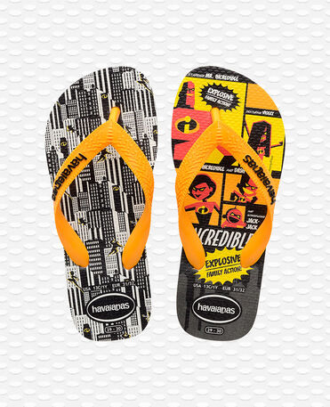 Havaianas Kids The Incredibles 2 - Flip Flops - Gelber Funken - Kinder