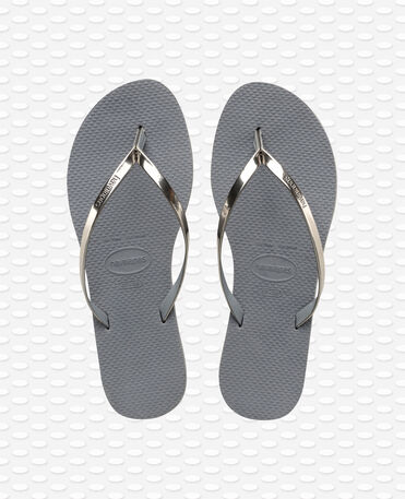 Havaianas You Metallic - Steel Grey - Flip Flops - Women