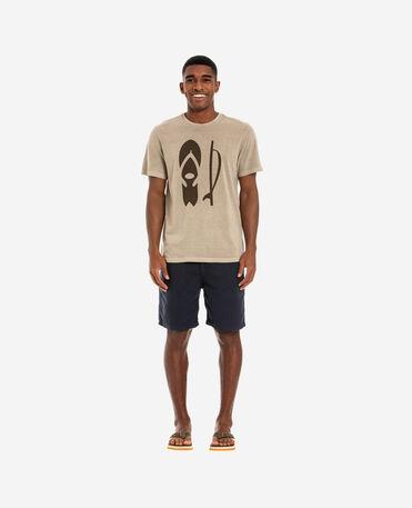 Havaianas T-Shirt Ff Surfboard Shape - SAND GREY