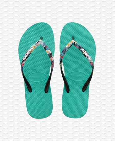 Havaianas Slim Strapped - Lake Green Flip flops Women