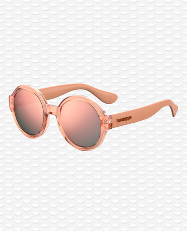 Havaianas Eyewear Floripa Mirrored - Pink Sunglasses Women