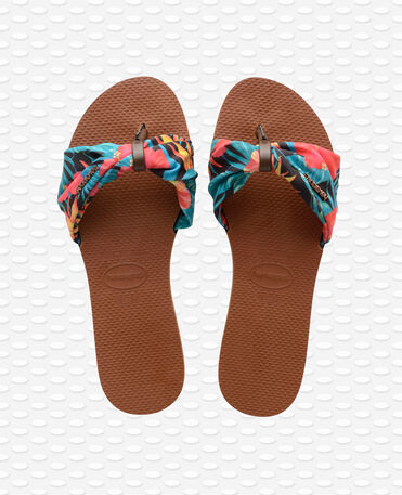 Havaianas You Saint Tropez - Rust Brown Sandals Women