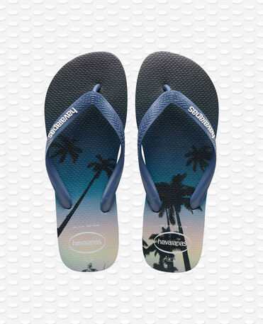 Havaianas Hype - Tongs - bleu marine / étoile bleue / blanc - Homme
