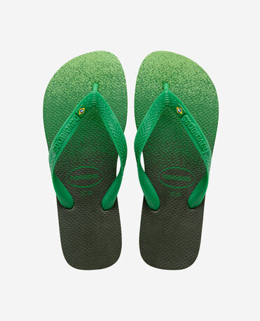 Havaianas Brasil Fresh - flip-flops - GREEN OLIVE - unisex
