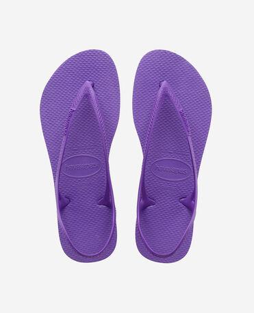 Havaianas Sunny II - beach sandals - DARK PURPLE - mujer