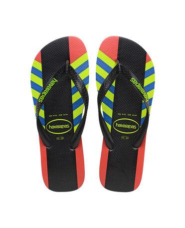 Havaianas Top Lines - flip-flops - BLACK/BLACK - hombre