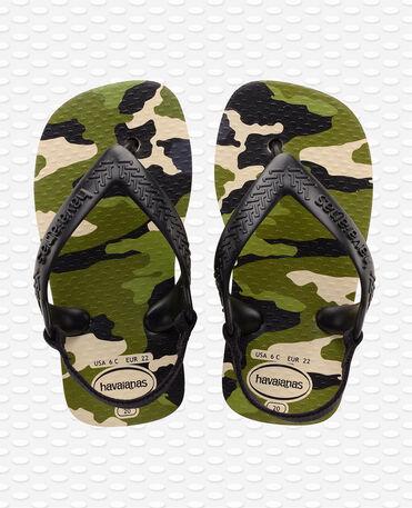 Havaianas Baby Chic II - beige/black - Flip flops - Kids