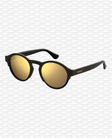 Havaianas Eyewear Caraiva Mirrored - Black Sunglasses
