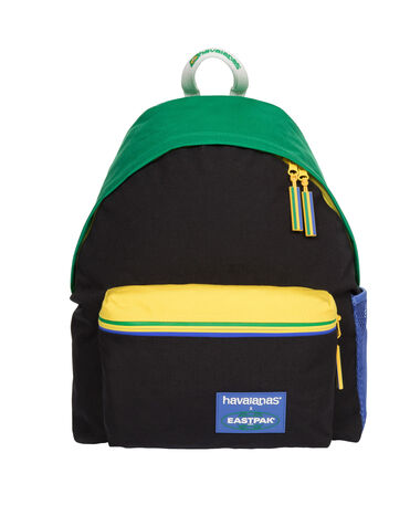 BACKPACK EASTPAK BLACK/YELLOW