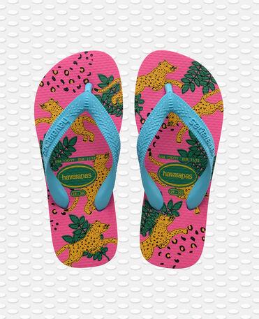 Havaianas Kids Top Fashion - flip-flops - PINK FLUX - niño