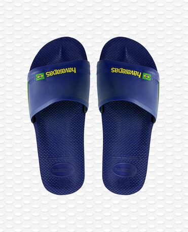 Havaianas Slide Brasil - Flip Flops - Navy blau - Herren