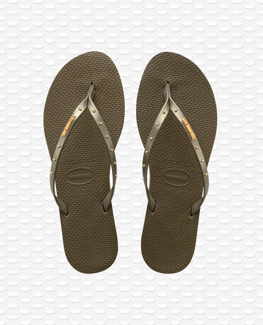Havaianas You Maxi - Dark Kahki - Flip Flops - Women