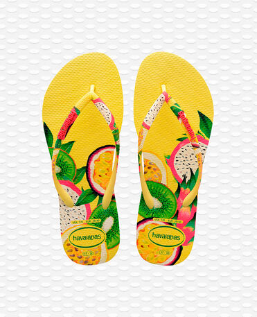 Havaianas Slim Sensation - Yellow Flip flops Women