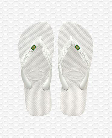 Havaianas Brasil - White - Flip Flops - Women