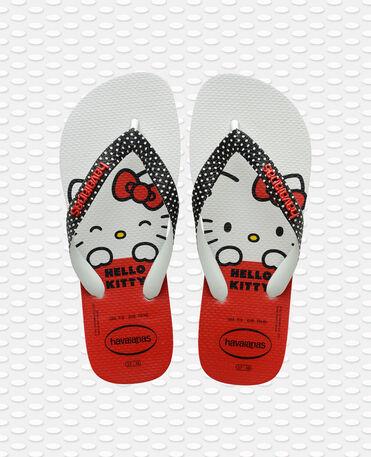 Havaianas Top Hello Kitty - flip-flops - BLACK - mujer