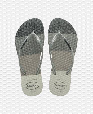 Havaianas Slim Palette Glow - flip-flops - WHITE - mujer