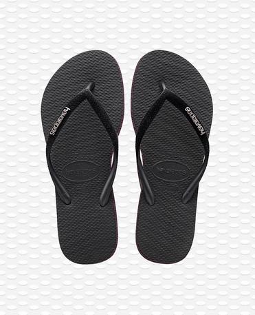 Havaianas Slim Velvet - Flip Flops - Schwarz - Damen