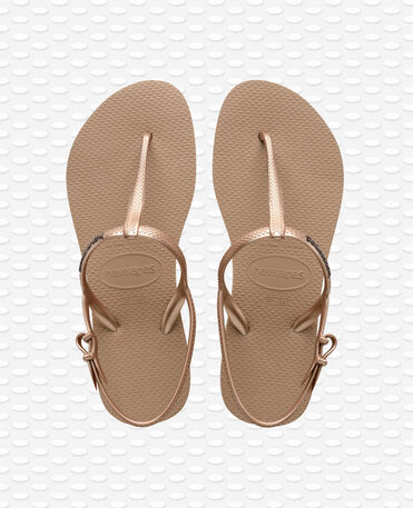 Havaianas Freedom - Sandales - Or rose - Femme