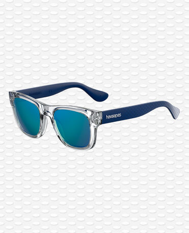 Havaianas Eyewear Paraty Mirrored Gri -Blue Neon Sunglasses