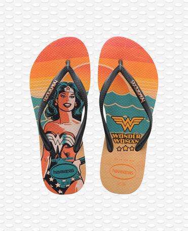 Havaianas Slim Heroinas - Nude / Dark Metallic Grey - Flip Flops - Women