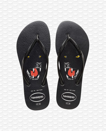 Havaianas slim Animal Print - Black Flip flops Women