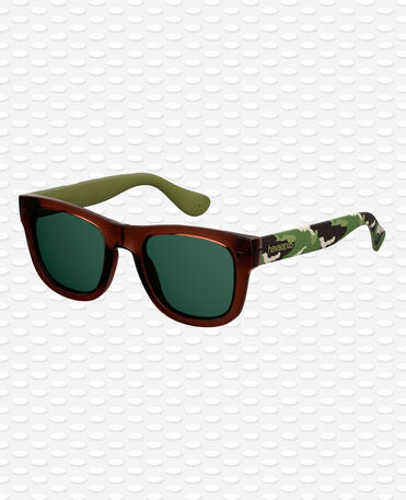 Havaianas Eyewear Paraty Mirrored Gri - Green Olive Sunglasses