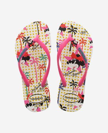 Havaianas Kids Disney Cool - flip-flops - WHITE/PINK FLUX - niño