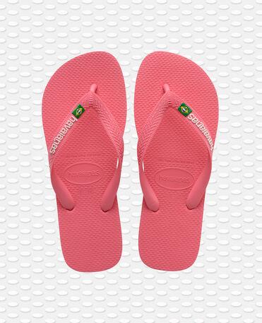 Havaianas Brasil Logo - flip-flops - PINK PORCELAIN - unisex