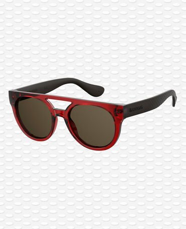 Havaianas Eyewear Buzios Solid - Red Burgundy Sunglasses