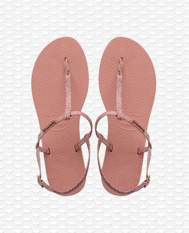 Havaianas You Riviera Croco - Rose Nude - Flip Flops - Women